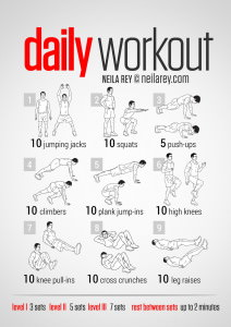"Workout of the Week – The ""Easy"" Daily Workout"