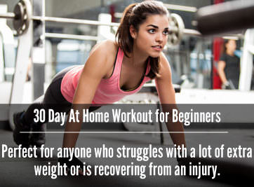 30 Day At Home Workout For Beginners