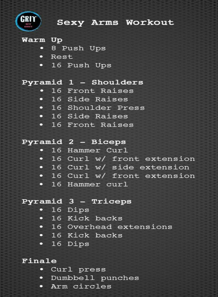 Quick Arm Workout