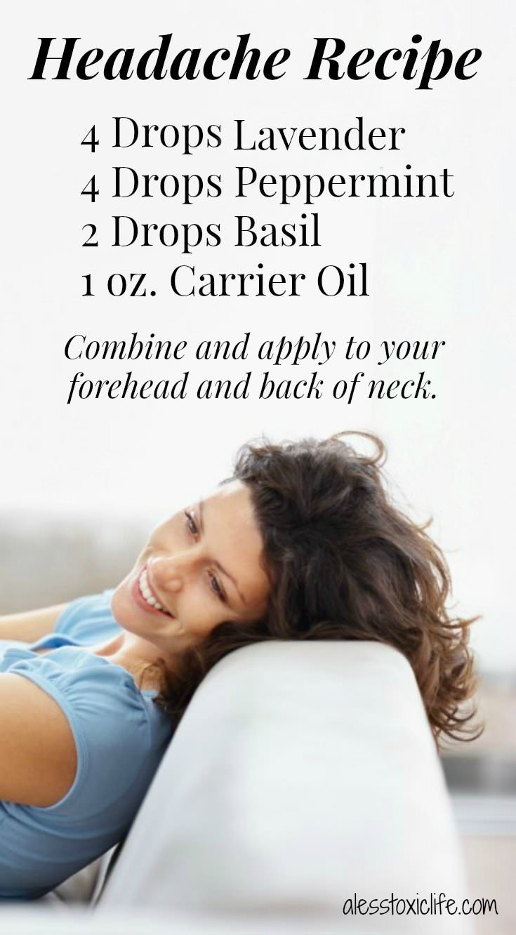 Essential Oil Recipe For Headaches https://www.alesstoxiclife.com/health/essential-oil-uses/