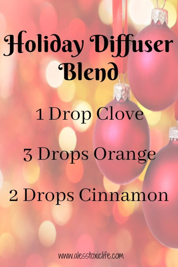 Holiday diffuser blend smells so good!