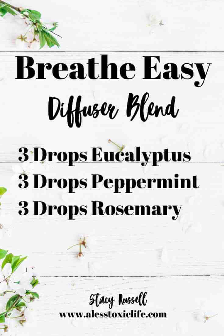 Essential Oil Diffuser blend for allergies