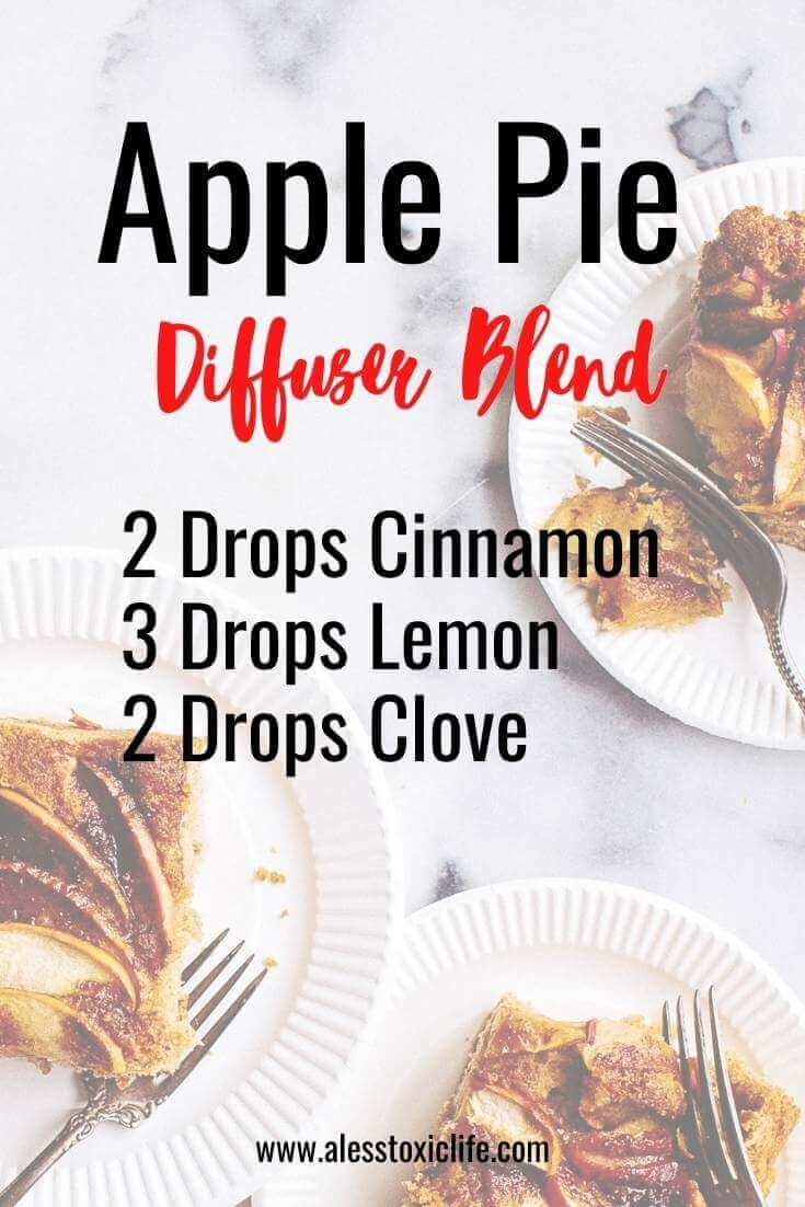 Christmas Holiday diffuser blends in Apple Pie scent