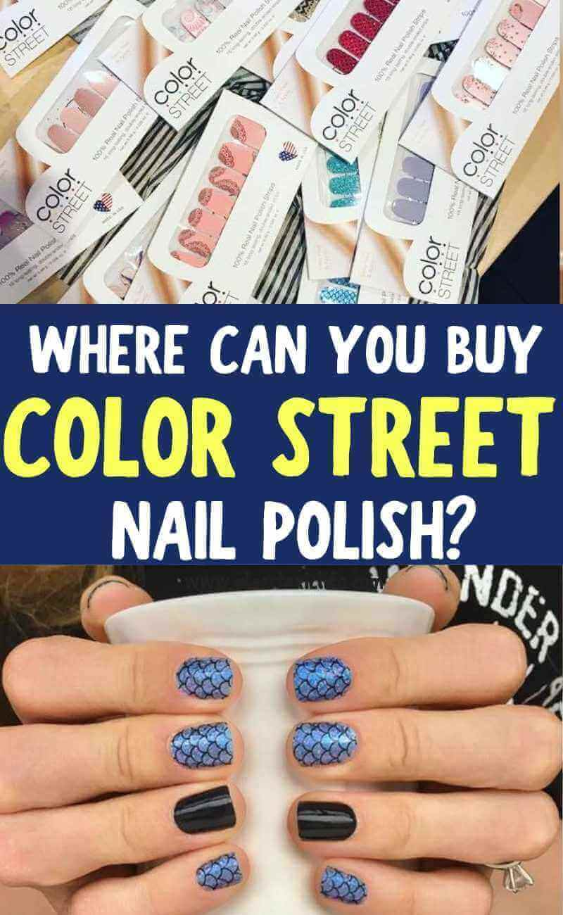 Buy Color Street Nail Polish Strips Here