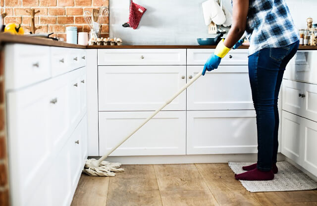 Clean your home with less toxic essential oils and DIY cleaners you can make at home with ingredients you probably already have.