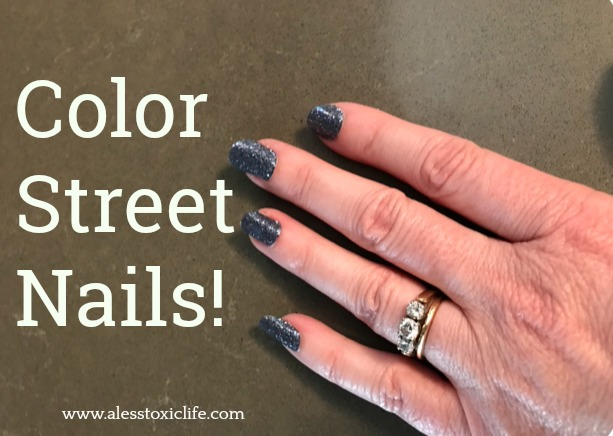 Color Street Nails are so easy to apply. Your friends will want more.