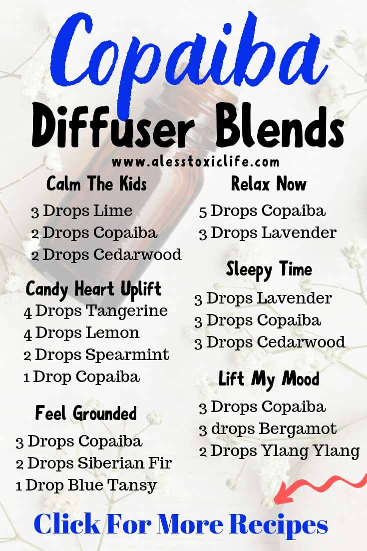 copaiba essential oil diffuser blend recipes