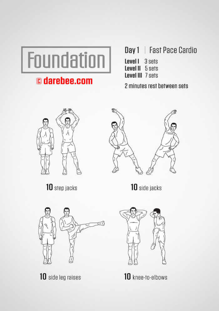 Day 1 Darby Foundations Workout