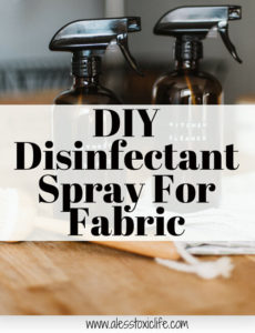 Easy Homemade Disinfectant Spray For Fabric