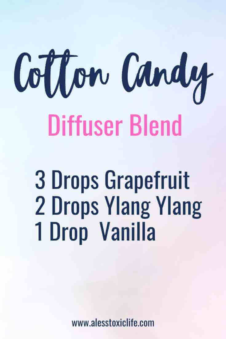 Essential oils that smell like cotton candy