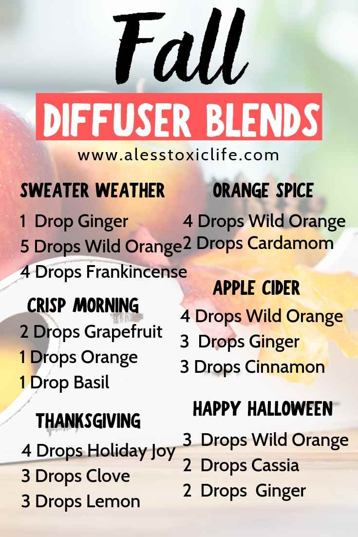 Diffuser Blends For Fall That Smell Great