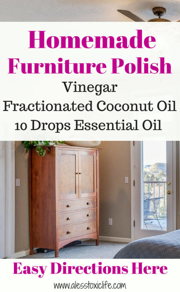 Easy Homemade Furniture Polish Recipe and Directions