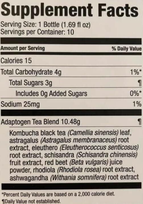 Adaptogen Elixir Ingredients