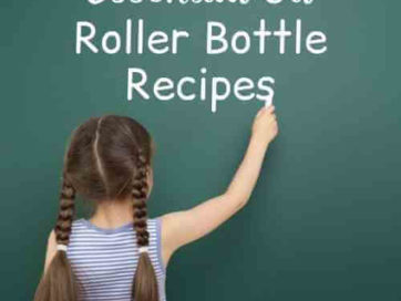 Essential Oil Roller Bottle Recipes