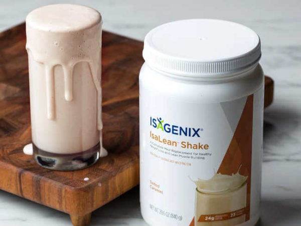 Isagenix salted caramel shake tastes so great. This new seasonal flavor won't last long.