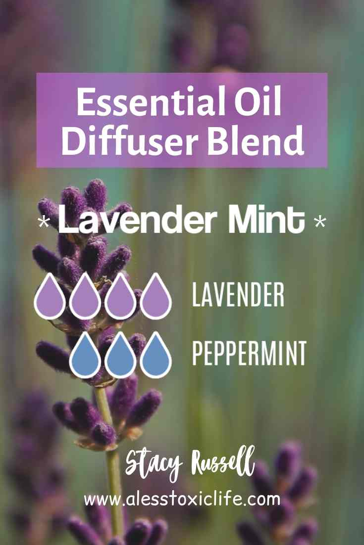 Lavender Mint Essential Oil Diffuser Blend