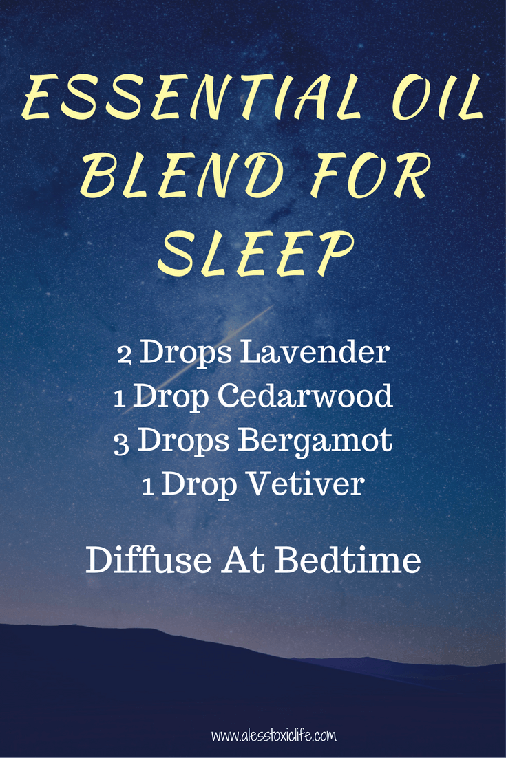 Oil Blend for Better Sleep https://www.alesstoxiclife.com/health/essential-oil-uses/