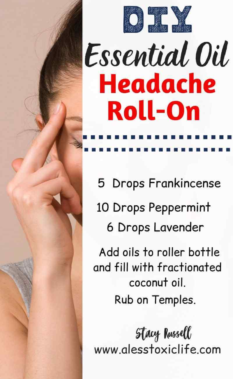 Essential Oil Roll On Blend For Headaches