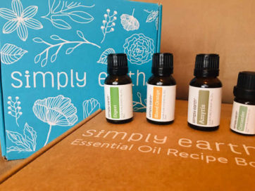 Simply Earth Essential Oils - March 2019 Review