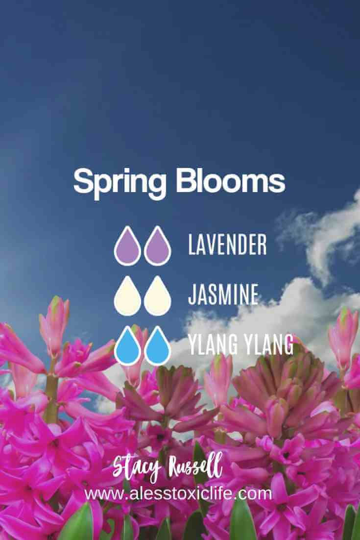 Spring Essential Oil Diffuser Blends