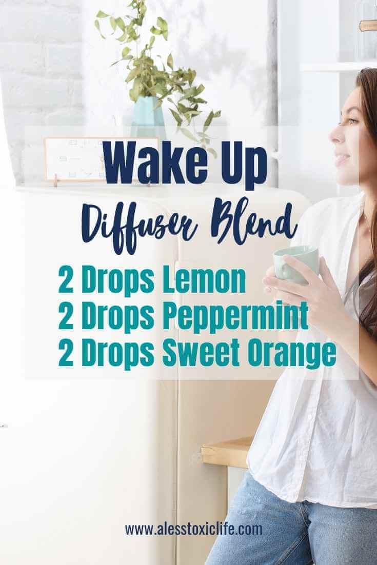 Wake Up Sweet Essential Oil Diffuser Blend